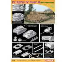 Dragon 7279 - 1:72 Panzer IV Ausf H Mid production