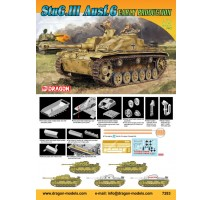 Dragon 7283 - 1:72 Stug III Ausf G Early production