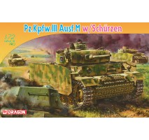 Dragon 7323 - 1:72 Panzer III Ausf M With Schurzen