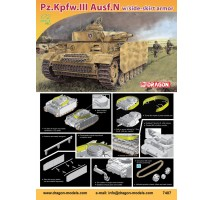 Dragon 7407 - 1:72 Panzer III Ausf N with schurzen