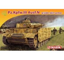 Dragon 7407 - 1:72 Panzer III Ausf N with schurzen