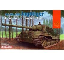 Dragon 7563 - 1:72 Jagdtiger Henschel Type