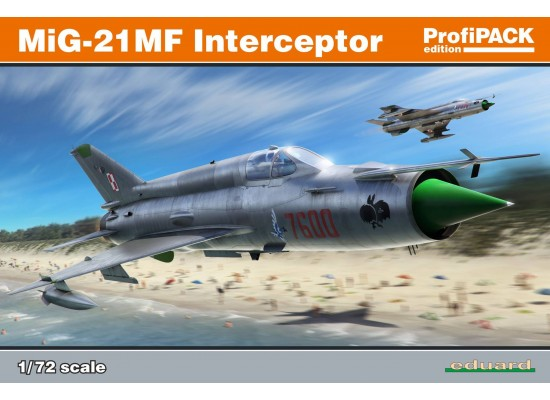 Eduard 70141 - MIG-21 MF Interceptor Profipack 1:72