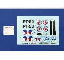 Eduard 7423 - Kit macheta avion MIG-15 1:72