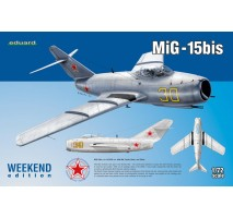 Eduard 7424 - Kit macheta avion Mig-15bis 1:72