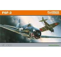 Eduard 8221 - Kit macheta avion F6F-3 Hellcat Profi-pack 1:48