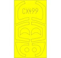 Eduard CX499 - Yak-130 1:72 paint mask (Zvezda)
