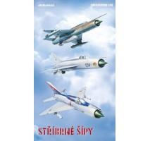 Eduard Macheta avion MIG 21 limited edition Stríbrné šípy (Silver Arrows) 1:48