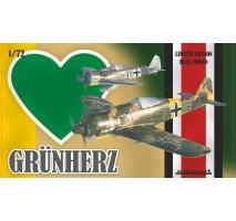 Eduard 2122 - 1:72 Grunherz DUAL COMBO - Fw 190A