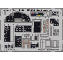Eduard FE610 - 1:48 Photo-etched parts for An-2 Interior S. A. (HOBBY BOSS)