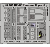 Eduard SS265 - 1:72 Photo-etched parts for 1:72 RF-4C (HASEGAWA)