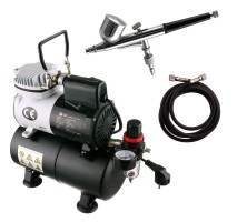 FENGDA AS-186K AIRBRUSH + COMPRESSOR SET