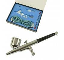 FENGDA BD-130K - Airbrush Double-Action Set (0.2 0.3 and 0.5 mm nozzle + hose)