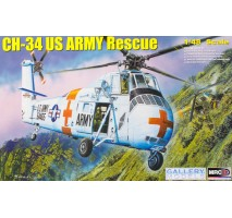 Gallery Models (MRC) 64103 - 1:48 CH-34 US Army Rescue