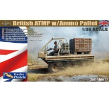 Gecko Models 0017 - 1:35 British ATMP with Ammo Pallet