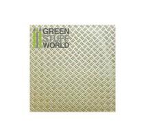 GSW - ABS Plasticard - Thread DOUBLE DIAMOND Textured Sheet - A4