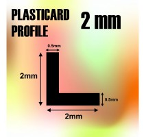 GSW - ABS Angle L Profile 2mm