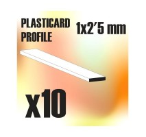 GSW - ABS Plain Profile 1.5x2.5mm