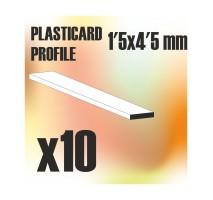 GSW - ABS Plain Profile 1.5x4.5mm
