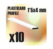 GSW - ABS Plain Profile 1.5x4mm