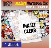 GSW - DECAL PAPER TRANSPARENT - INKJET