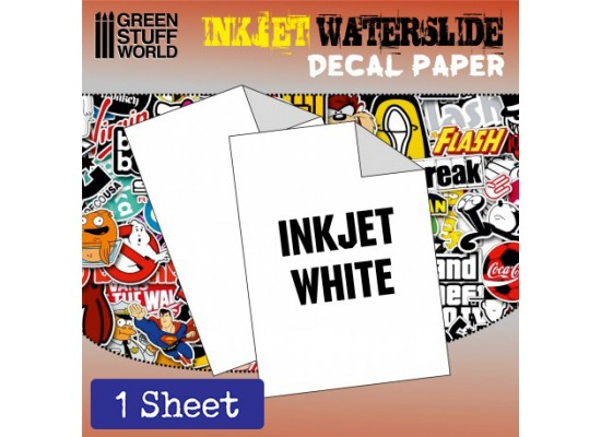 GSW - DECAL PAPER WHITE - INKJET