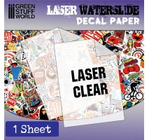 GSW - DECAL PAPER TRANSPARENT - LASER