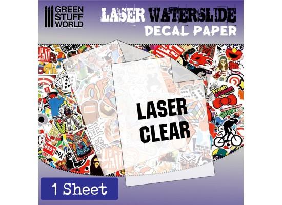 GSW - DECAL PAPER TRANSPARENT - LASER
