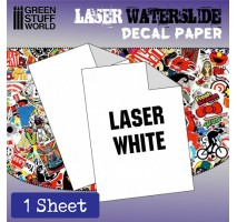 GSW - DECAL PAPER WHITE - LASER