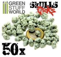 50 x Resin ORK Skulls