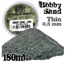 GSW - Fine Hobby Sand 180ml - Grey