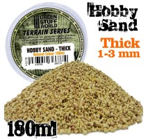 GSW - Thick Hobby Sand 180ml - Natural
