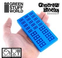 GSW - Silicone molds - CONCRETE BRICKS