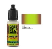 GSW - Chameleon TROPICAL GREEN