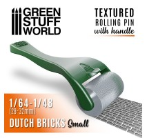 GSW - Rolling pin with Handle - Dutch Bricks Small