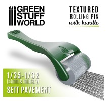 GSW - Rolling pin with Handle - Sett Pavement