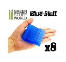 GSW - Blue Stuff Mold 8 bars