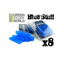 GSW - Blue Stuff Mold 8 bars