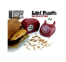 GSW - Miniature Leaf Punch RED