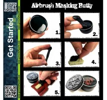 GSW - Airbrush Masking Putty 60gr