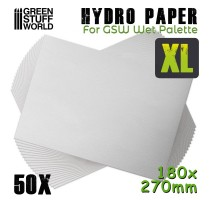 GSW - Hydro Paper XL (50 pcs set)