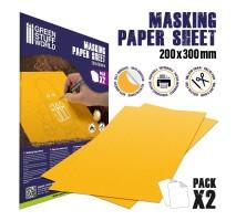 GSW - Masking Paper Sheets x2