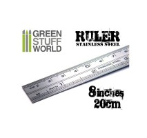 GSW - Hobby Metal Ruler 20cm