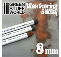 GSW - Weathering Brushes 8mm