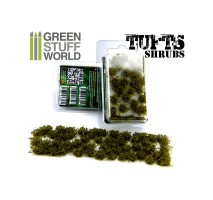 GSW - Shrubs tufts - 6mm Dark Green