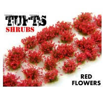 GSW - Shrubs tufts - 6mm Red Flowers