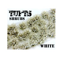 GSW - Shrubs tufts - 6mm White Flowers