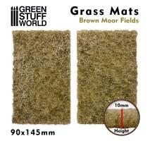 GSW - Grass Mat Cutouts - Brown Moor Fields