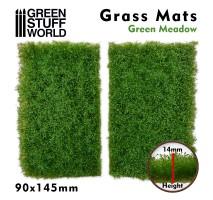 GSW - Grass Mat Cutouts - Green Meadow