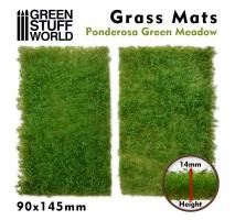 GSW - Grass Mat Cutouts - Light Green Meadow